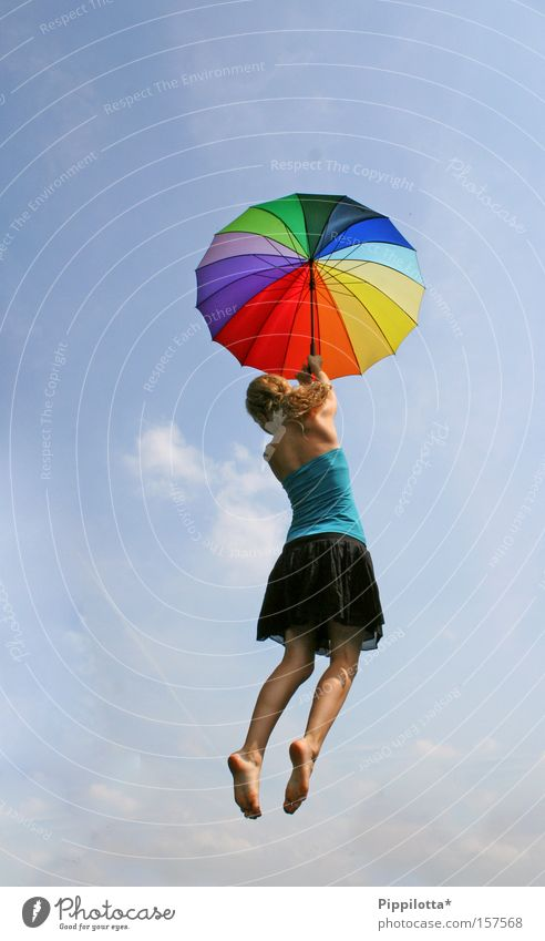 flying free Multicoloured Joy Sky Above Impossible Free Summer Flying rain screen