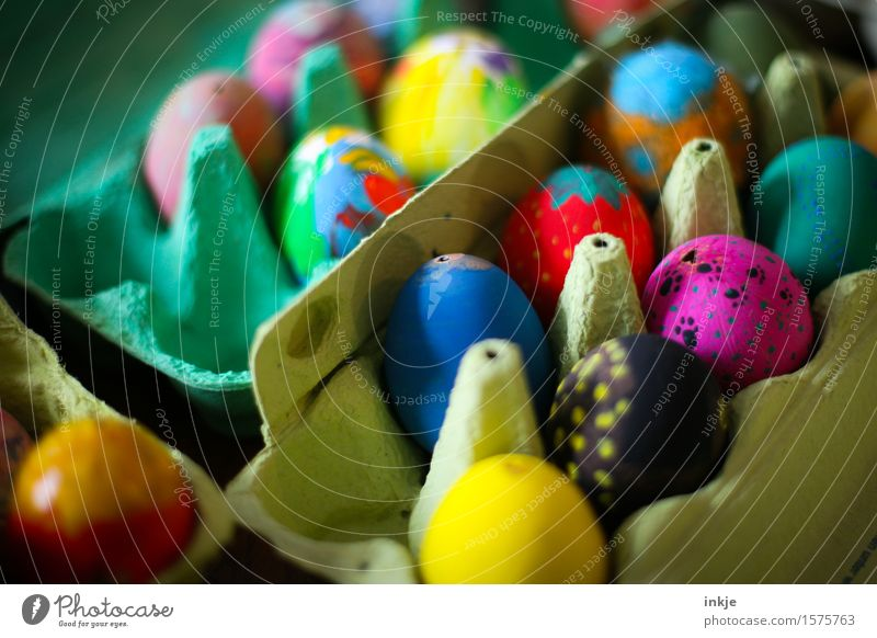 In 249 days Easter will be Packaging Decoration Collection Easter egg Eggs cardboard Exceptional Uniqueness Multicoloured Idea Inspiration Creativity Art
