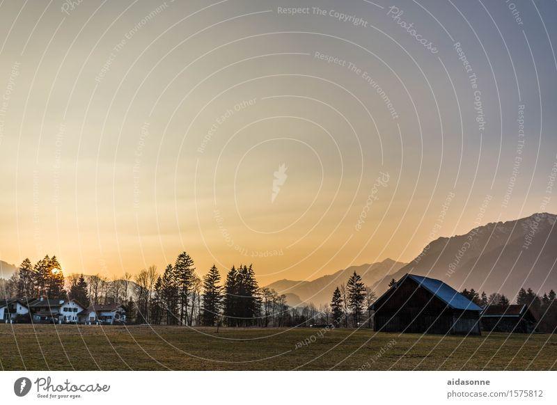 Landscape Calm Mountain Spring Contentment Alps Serene Cloudless sky Caution Attentive