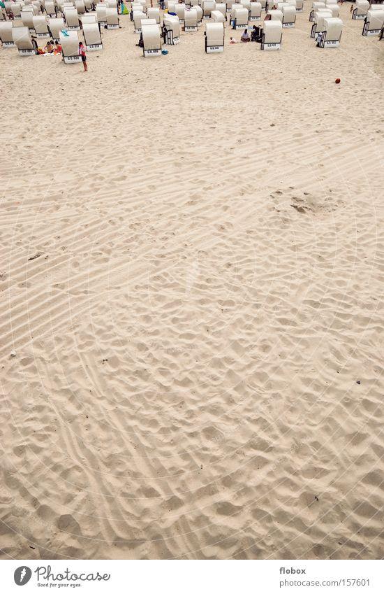 Vacation & Travel Ocean Summer Beach Sand Coast Island Tourism Desert North Sea Baltic Sea Beach chair Sylt Rügen Sandy beach