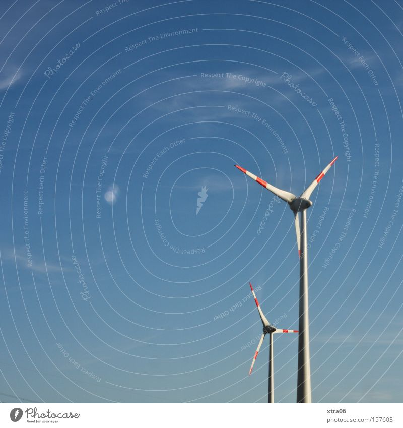 Sky Summer Energy Electricity Things Wind energy plant Graphic