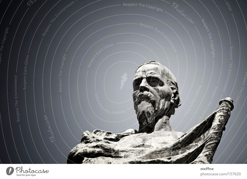 Sky Art Italy Statue Monument Landmark Hero Tourist Attraction Knight Knight statue Philosopher Idol Verona