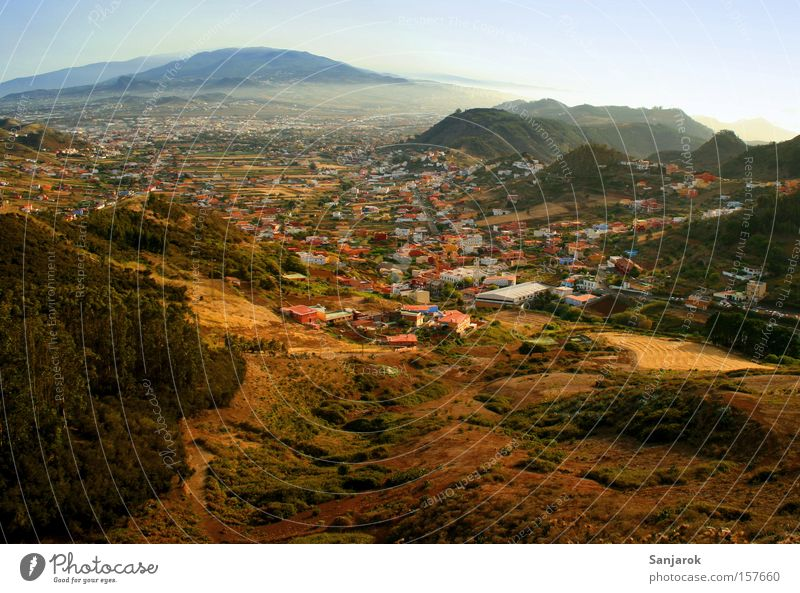 City Vacation & Travel Forest Mountain Landscape Field Hiking Earth Peace Village Americas Spain Canaries Tenerife