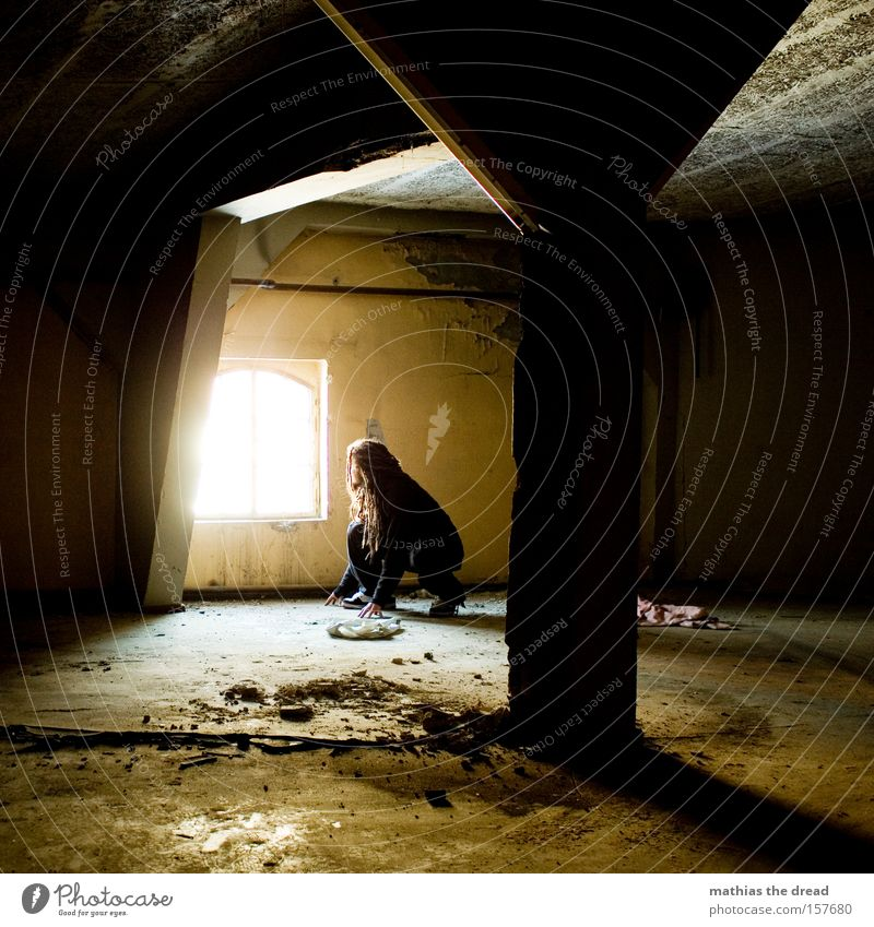 Man Beautiful Black Loneliness Dark Room Concrete Safety Derelict Mysterious Hollow Location Flare Creep Lateral fold lizards