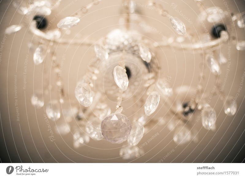 Glass Beads Chandelier Elegant Style Living or residing Flat (apartment) Arrange Interior design Lamp Living room Ceiling light glass beads Decoration Kitsch