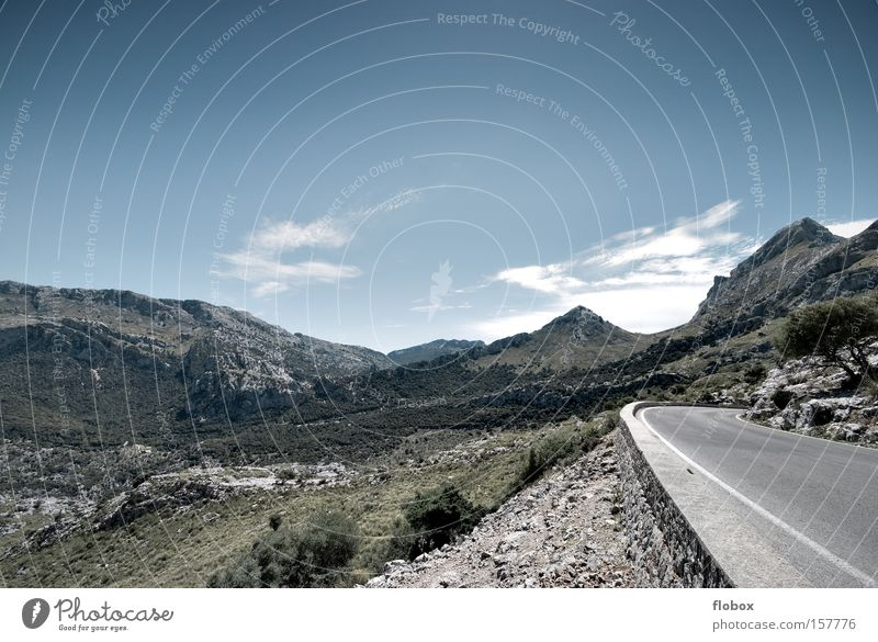 Nature Sky Plant Vacation & Travel Meadow Mountain Landscape Hiking Large Vantage point Mountaineering Majorca