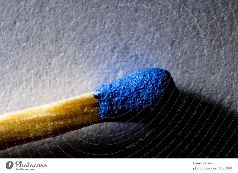 Blue Wood Warmth Blaze Fire Smoking Craft (trade) Match Disaster Unused Hans Christian Andersen