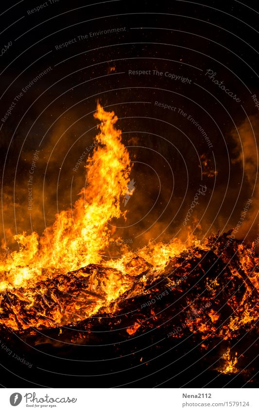 Summer Joy Spring Moody Orange Fantastic Threat Fire Blaze Hot Burn Flame Glow Fireplace Spark Heat