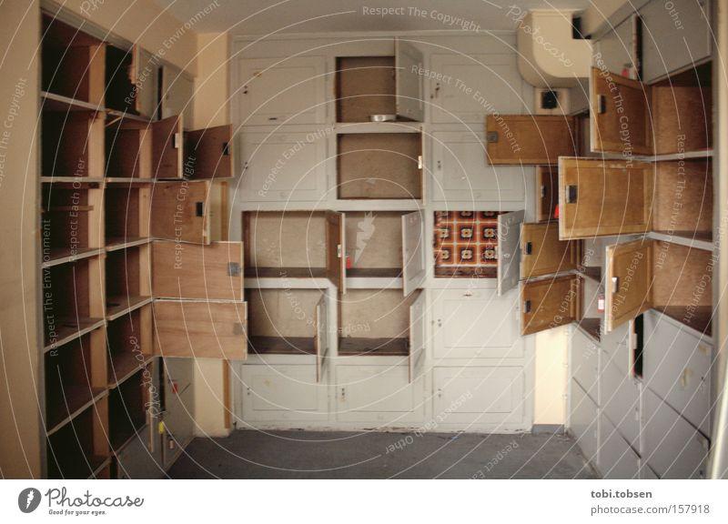 Old Loneliness Room Door Empty Transience Derelict Hallway Parking Cupboard Keg Drawer Hesse Flap Small room Wiesbaden