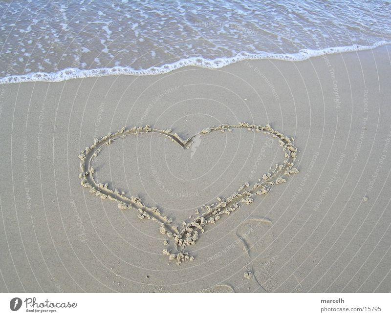 at the Baltic Sea v.2 Beach Lake Vacation & Travel Summer Sea water Salty Beautiful Germany Love Sand Heart Water Pain Sun