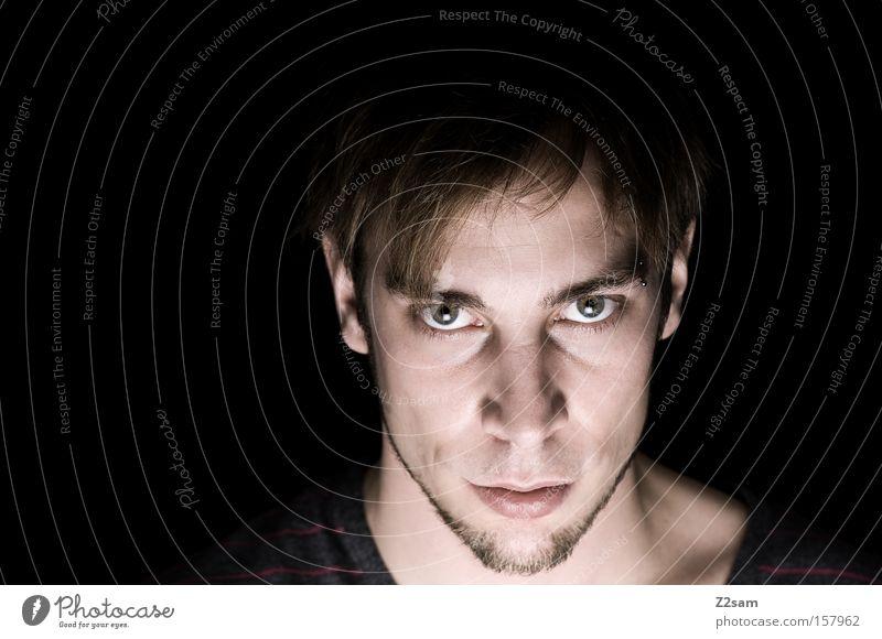 Human being Man Nature Face Power Force Masculine Self portrait Portrait photograph Character