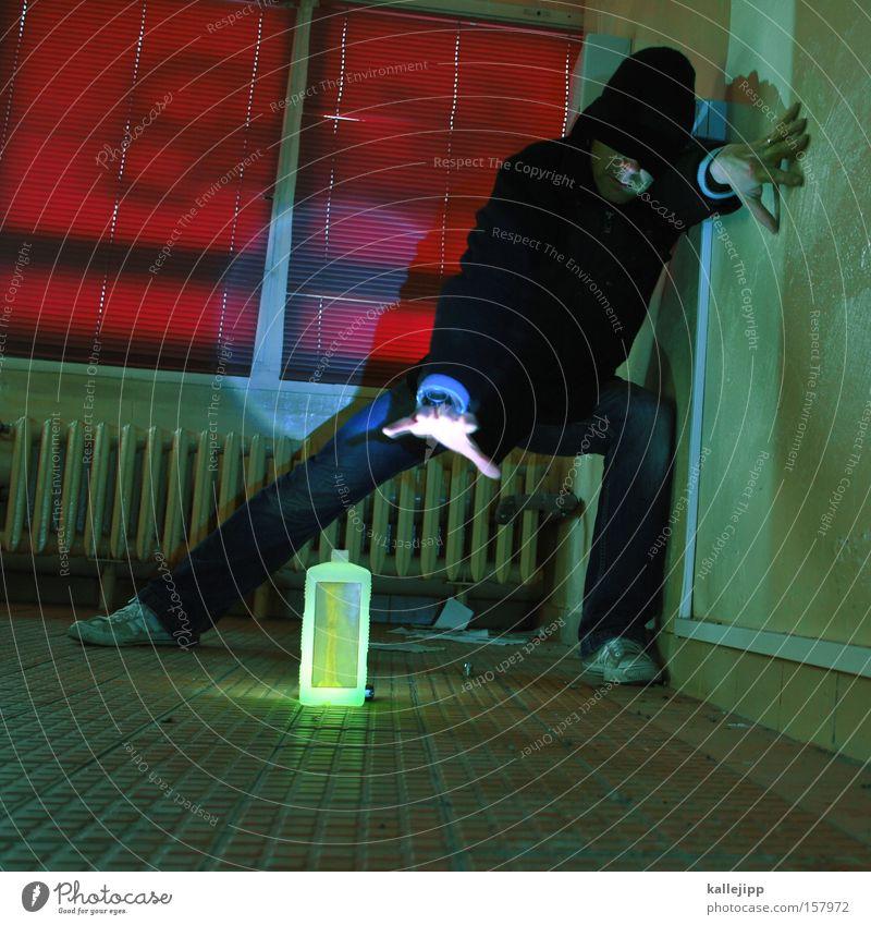 the next uri gaga Bottle Drape Human being Stage lighting Red Venetian blinds Ghosts & Spectres  Magic Magician Fear Dangerous Radioactivity Man incantation