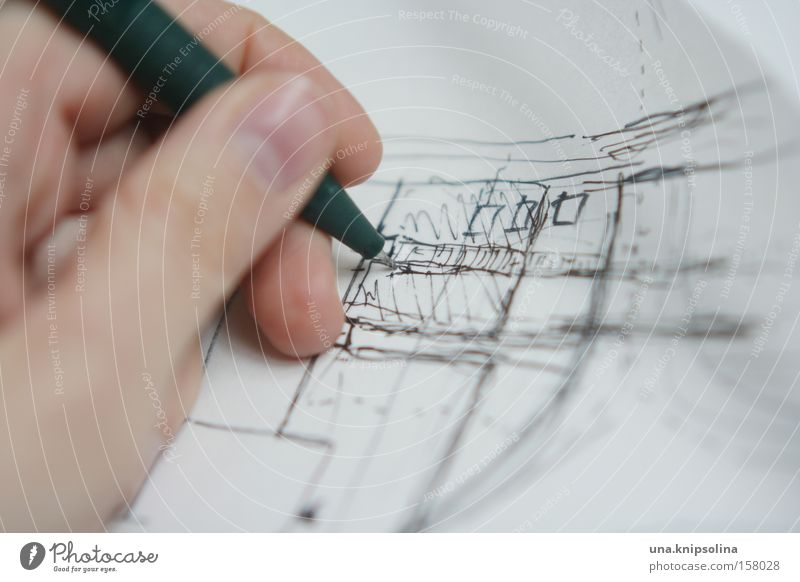 Development Architecture Line Paper Planning Painting and drawing (object) Craft (trade) Draw Pen Piece of paper Drawing Conceptual design Art Urban development