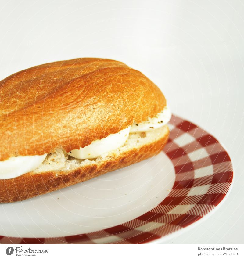 White Red Nutrition Table Fresh Gastronomy Delicious Breakfast Egg Bread Plate Baked goods Roll Quality Fast food Dough