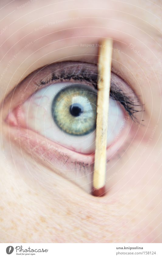 Green Eyes Match Pupil Alert Iris Face Optics Detox Lack of sleep