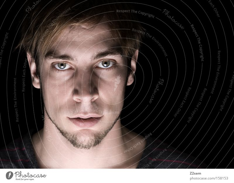 Human being Man Nature Face Portrait photograph Power Masculine Self portrait Character