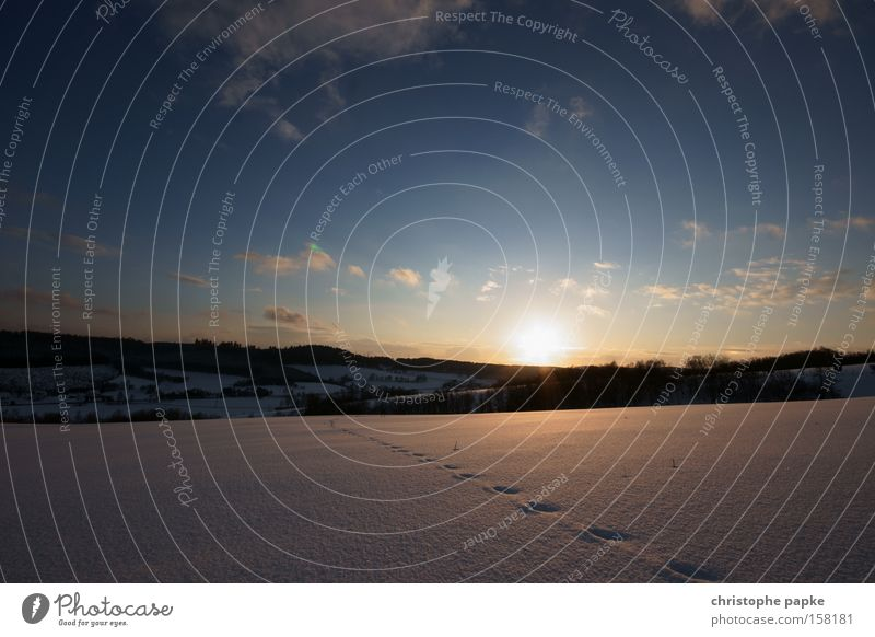 Nature Sky Winter Vacation & Travel Cold Snow Mountain Landscape Kitsch Clarity Sunset Snowscape Tundra