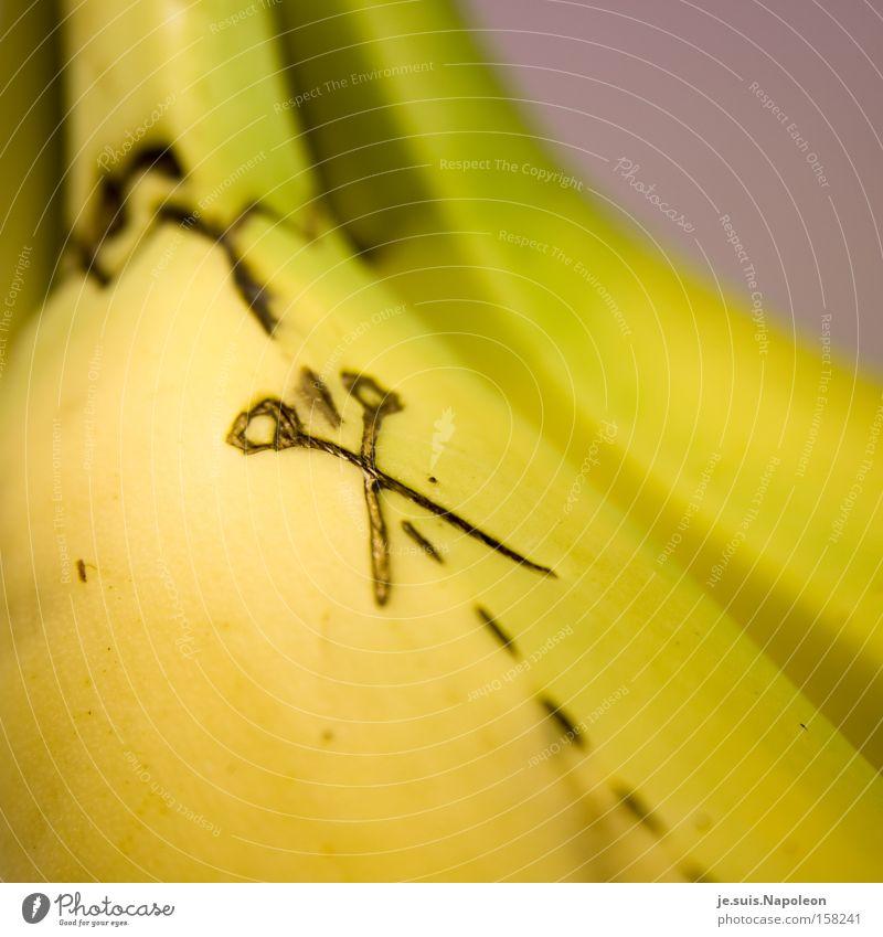 """looos banana!"" Banana Line Delicious Fruit Colour Kitchen Scissors Haircut Guide"