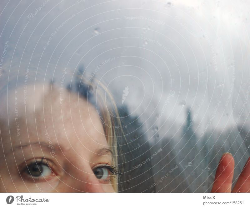 Woman Hand Sun Face Window Head Sadness Rain Fear Blonde Adults Drops of water Grief Gloomy Vantage point