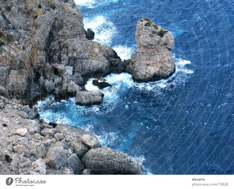 Ocean Blue Far-off places Waves Rock Canyon