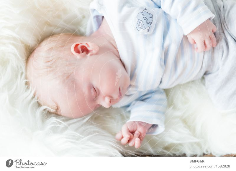 Sweet dreams Human being Baby Family & Relations Life 1 0 - 12 months Lie Sleep Dream Small Cute Soft White Emotions Happy Contentment Joie de vivre (Vitality)
