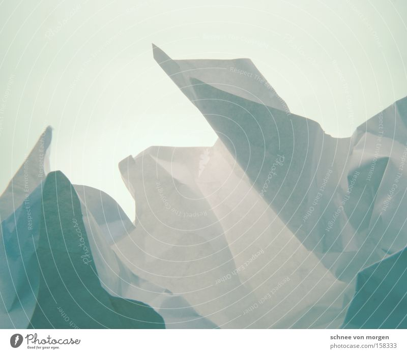 Icy landscape Ice Cold Iceberg Landscape Greenland Nature Snow Horizon Mountain Winter Paper White Blue Cyan Ocean Block of ice