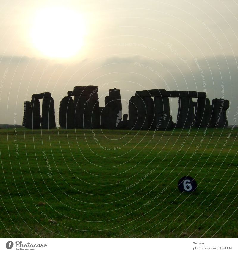 Fleet number in Stonehenge England Stone Age Neolithic period Mystery Magic Puzzle Astronomy Astrology Stars Landmark 6 666 Devil Sunset House of worship