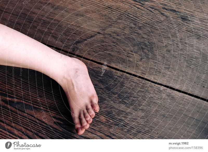 Woman Human being Wood Feet Legs Dirty Background picture Floor covering Part Parts of body Limbs