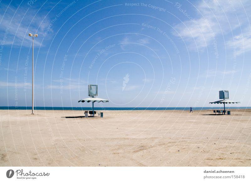 Water Sky White Ocean Blue Beach Vacation & Travel Coast Horizon Travel photography Derelict Surrealism