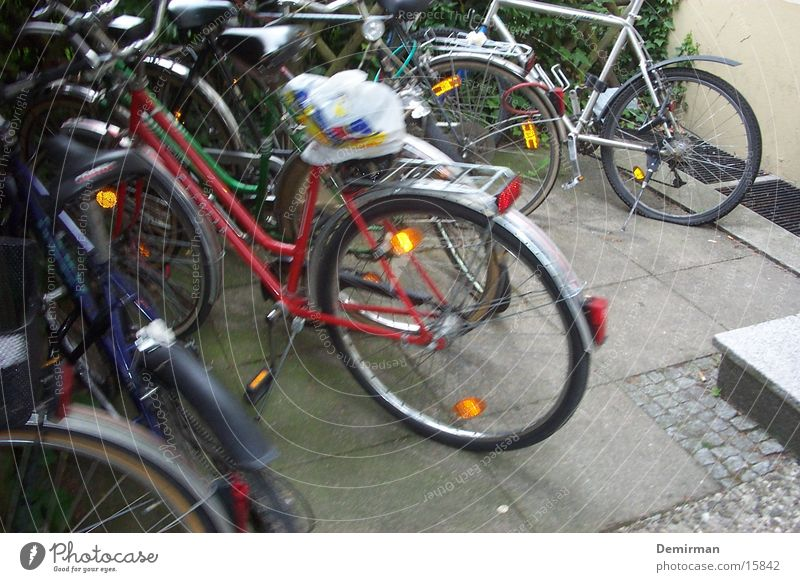 many wheels Bicycle Driving Pillar Multiple Transport Many