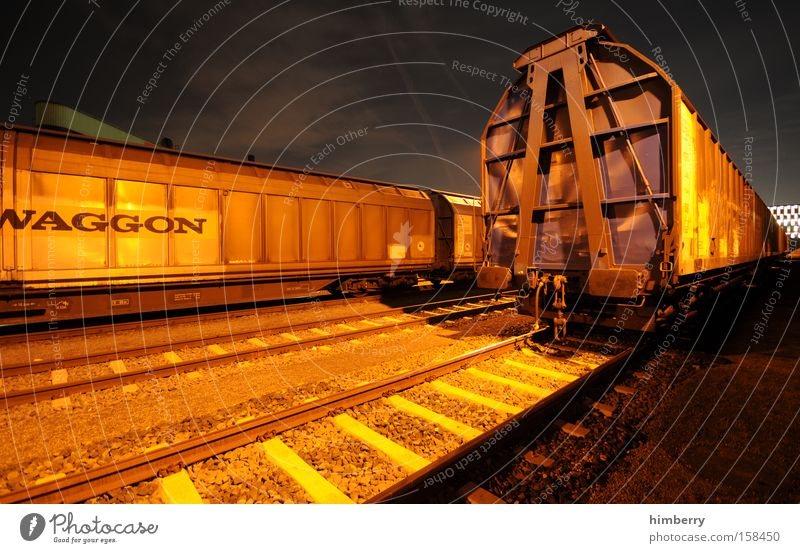 Transport Railroad Industry Logistics Railroad tracks Train station Container Shipping Railroad car Rail transport Freight car