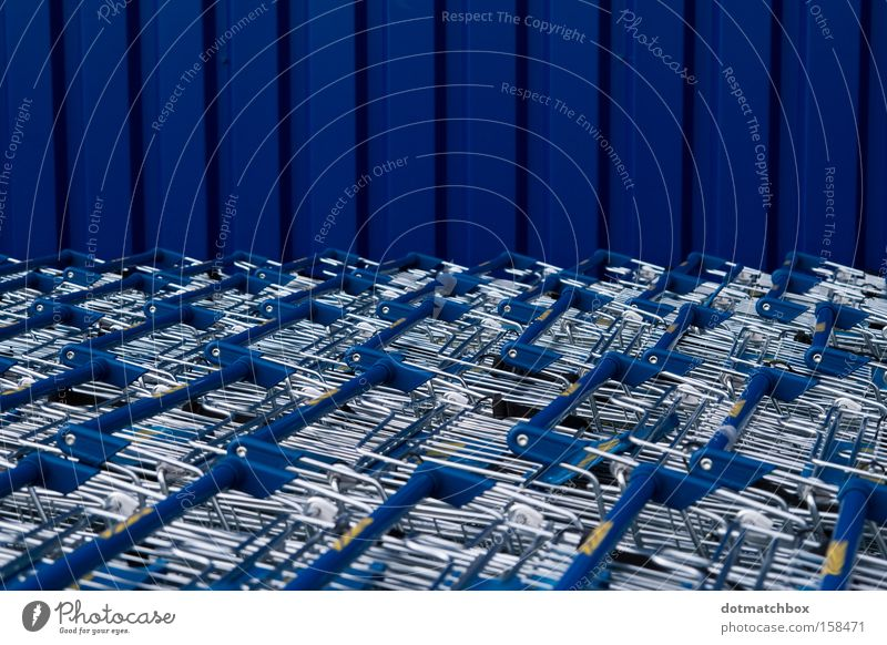 Blue Ocean Colour Wall (building) Horizon Transport Stripe Direction Obscure Silver Vertical Tin Shopping Trolley Horizontal Corrugated sheet iron