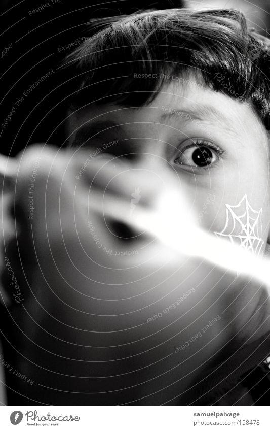Samuel Gê Eyes Hair Black & white photo Concentrate Toddler Child cabelo Samue Gê foco P&b White