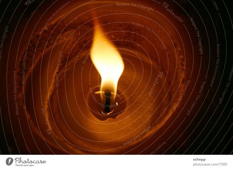 Christmas & Advent Blaze Candle Flame Wax