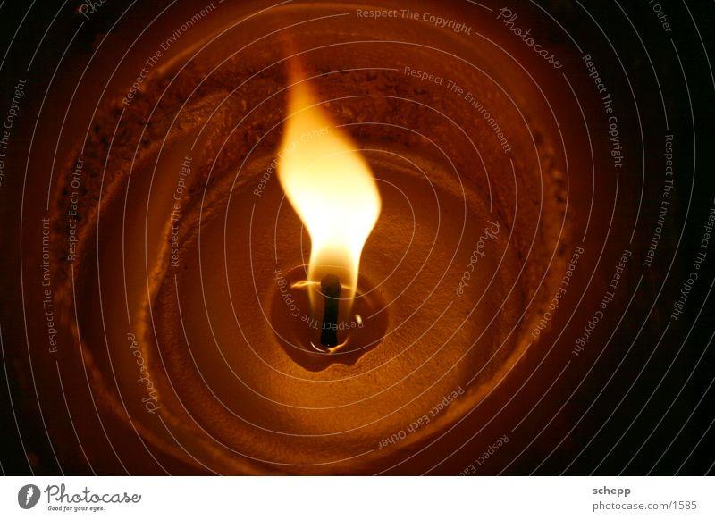 Flame 1 Candle Light Wax Christmas & Advent Blaze