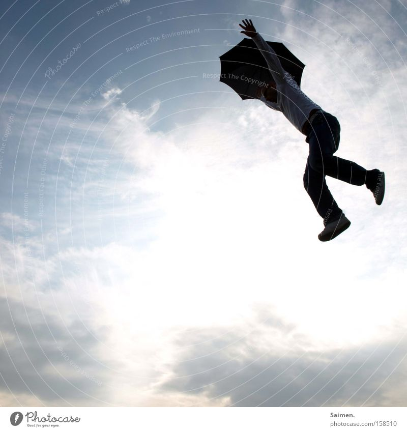 Jump into the Unknow Shadow Joy Life Freedom Sky Discover New Brave Fear Effort Feeble Circumstances Monstrous Ambiguous Insecure Panic