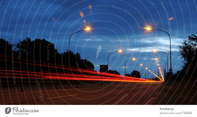 Street Lighting Transport Speed Bridge Driving Logistics Highway Racing sports Street lighting Motorsports