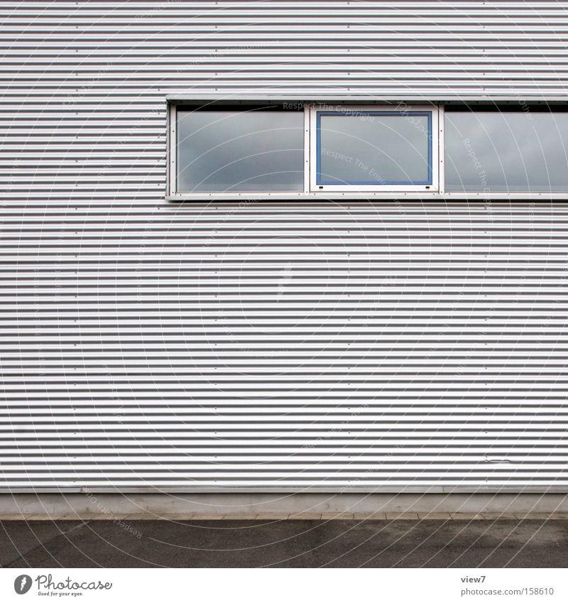 Wall (building) Window Architecture Industry Arrangement Industrial Photography Hut Warehouse Hall Detail Surface Aluminium Storage Window arch Shutter