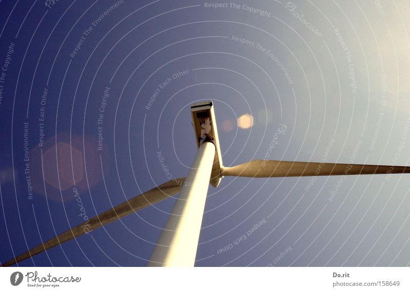 tailwind Wind energy plant White Blue Rotate Swing Renewable energy