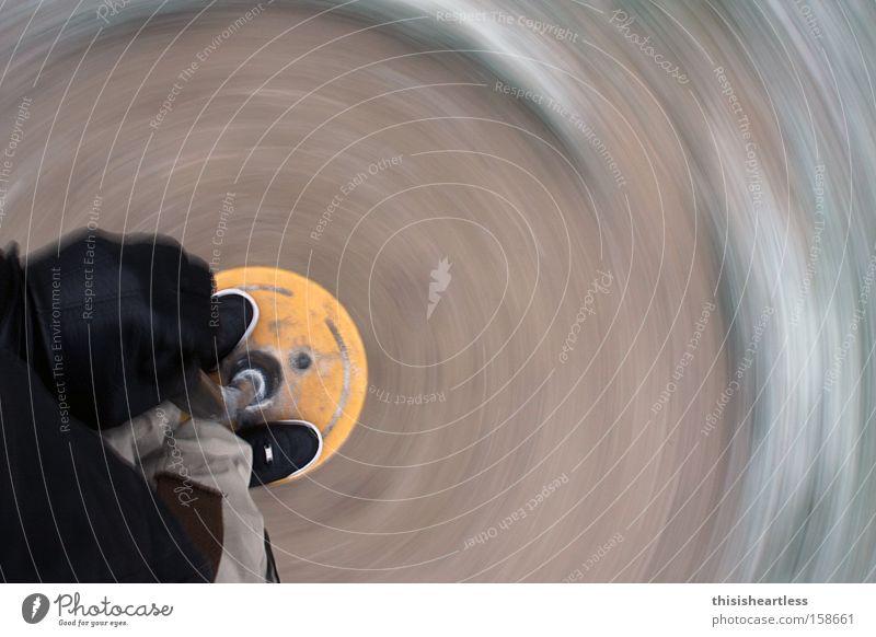 one-man carousel Vertigo Orientation Aimless Boredom Absurdity Blur Heartless Fear Panic Joy Long exposure blissfully spool Irritation