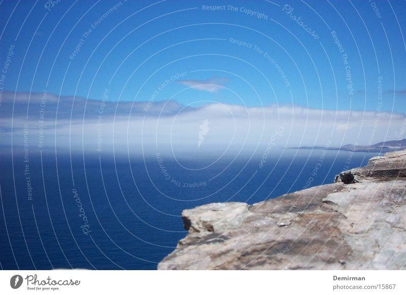 Water Beautiful Sky Blue Vacation & Travel Stone Rock Spain Canaries Gran Canaria