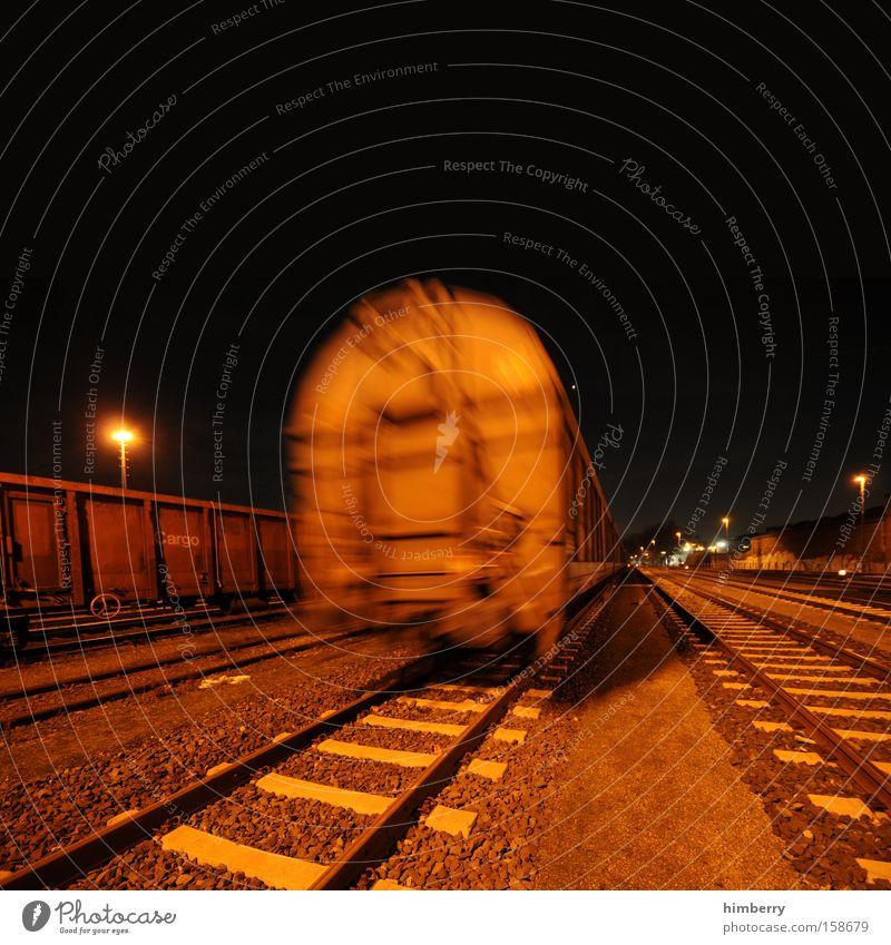 Transport Railroad Industry Logistics Railroad tracks Train station Container Shipping Railroad car Rail transport Freight car
