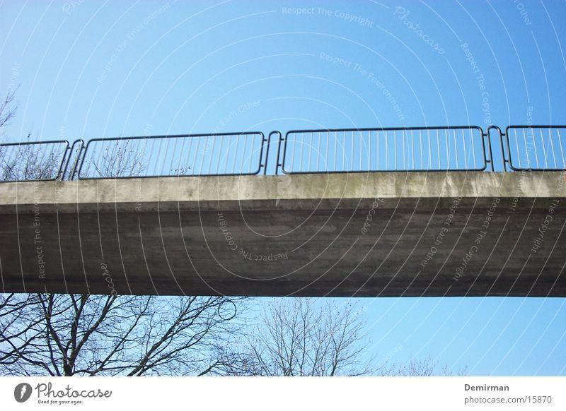 bridge Leisure and hobbies Bridge Sidewalk Sky Blue Street