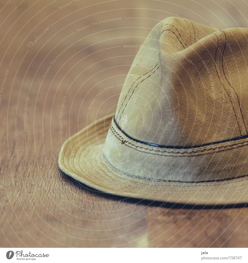 Grandpa's hat Hat Leather Headwear Old Forget Chic Brown Beige Clothing Accessory Close-up Men's fashion
