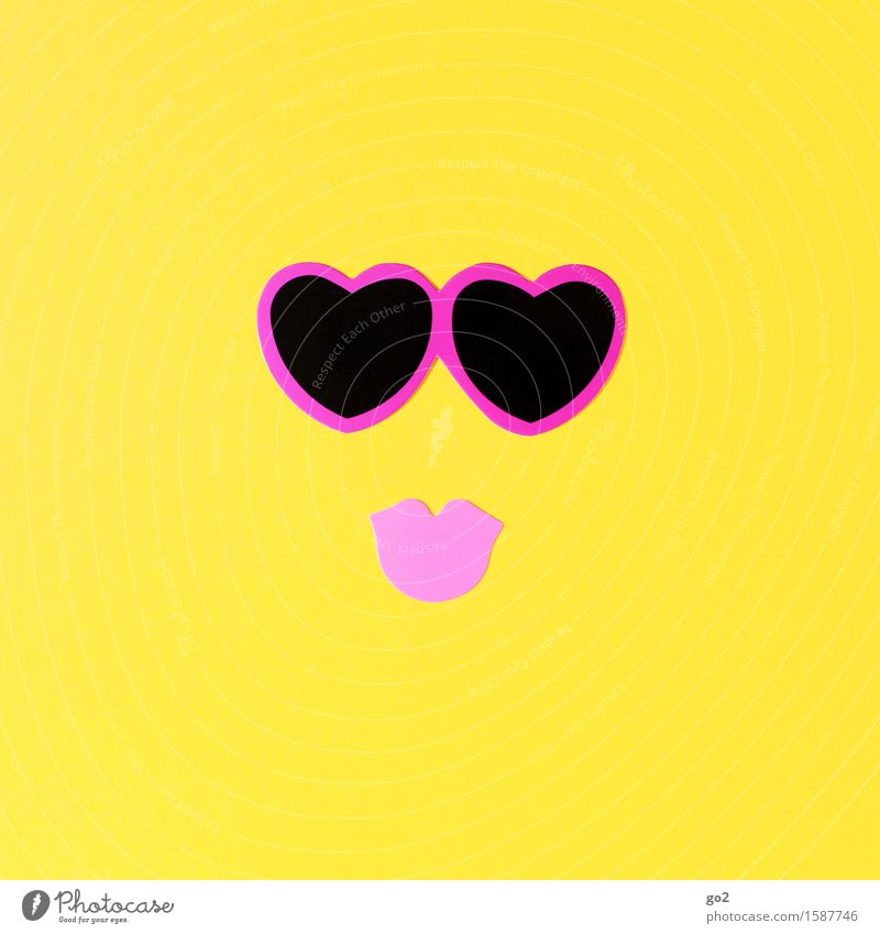 Beautiful Eroticism Yellow Love Emotions Feminine Happy Pink Leisure and hobbies Birthday Happiness Heart Sex Joie de vivre (Vitality) Mouth Romance
