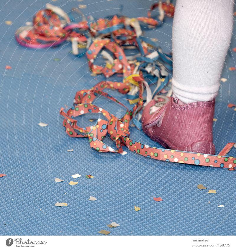 Child Joy Jump Dance Pink Mask Carnival Tights Kindergarten Carnival costume Costume Confetti Slippers Paper streamers Nursery rhyme