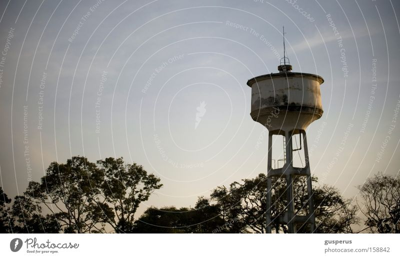 w high 2 tower Water tower Sky Calm Evening Free Detail Beautiful tower of water haven silence