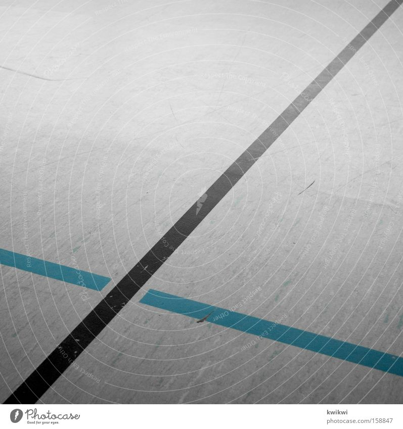 streak Hall Gymnasium Floor covering Ground Stripe Boundary Line Gray Blue Black Gloomy Boredom Square Ball sports Sports Playing hall floor