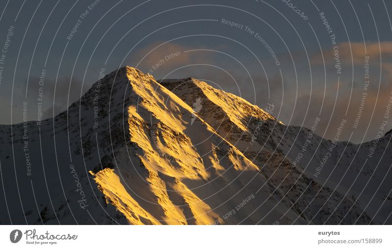 Sky Sun Snow Mountain Power Weather Large Horizon Switzerland Peak Sunrise Panorama (Format) Glacier
