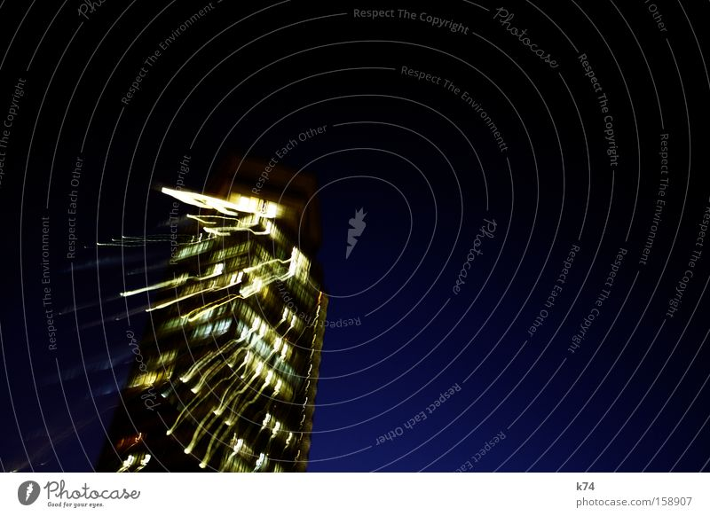 Blue Fear Walking High-rise To fall Sudden fall Stress Panic